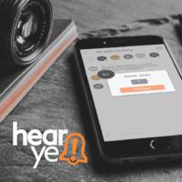 UX/UI Design – HearYe